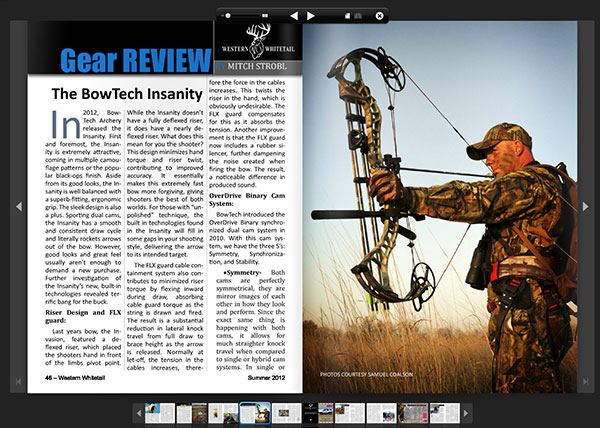 Bowtech Insanity - Bowtech - Bowhunting - Gear Review